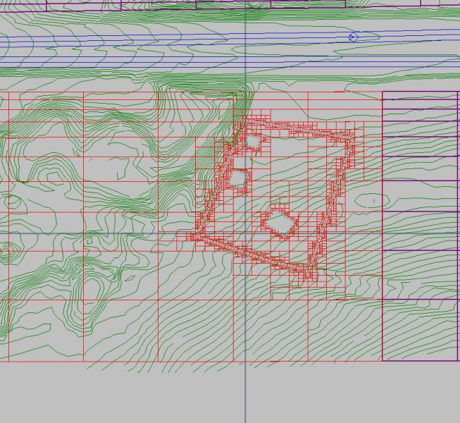 Step5:  Select and highlight the box number (shift down arrow to select multiple boxes) and partially delete the mesh