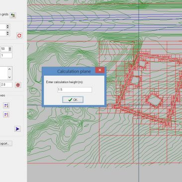 PEN3D – CoRTN Calculation Grids